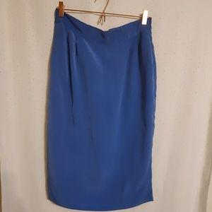 Vintage | Midi Blue Skirt